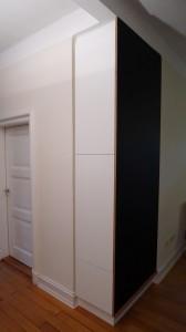 diele eckschrank mit tafelbeschichtung. Black Bedroom Furniture Sets. Home Design Ideas