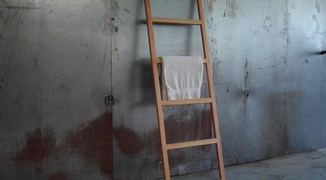 handtuchleiter in douglasie singer schreinerei. Black Bedroom Furniture Sets. Home Design Ideas